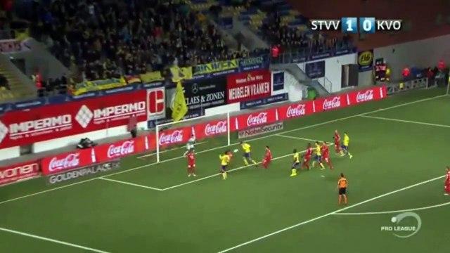 William Dutoit Amazing Save - St Truidense VV 1-0 Oostende   Belgium Jupiler League 28.01.2017 (HD)