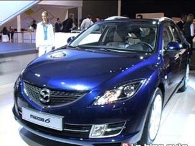 Francfort 2007 - Mazda 2 et Mazda 6