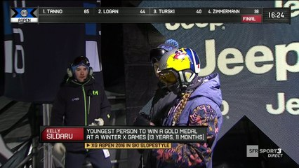 X-Games - Ski Big Air - Kelly Sildaru dans le rythme