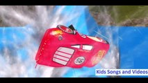 Batman with Superman and SpiderMan Dancing on the Hill - Ninja Turtles Travel by Bus - Kids Cartoon