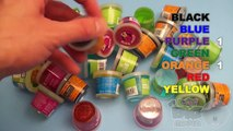Kinder Surprise Eggs - Top 5 Most Viewed Learn Colours With Ooze and Glitter Putty!