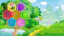 Best Preschool Learning Video for Kids: Learn Colors and Counting! Toy Bees Beehive Balancing Cactus
