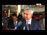 Le PR Ouattara a reçu un émissaire du chef de l'Etat nigérien et à des investisseurs indiens