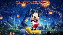 Halloween Finger Family | Mickey, Donald, Minnie, Goofy | Nursery Rhymes Surprise Eggs