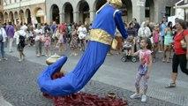 Genie Magic Lamp Levitation -  Street Performer