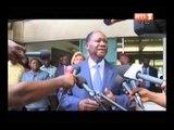 Le Chef de l'Etat et son épouse ont voté au Lycée Sainte-Marie pour les élections municipales