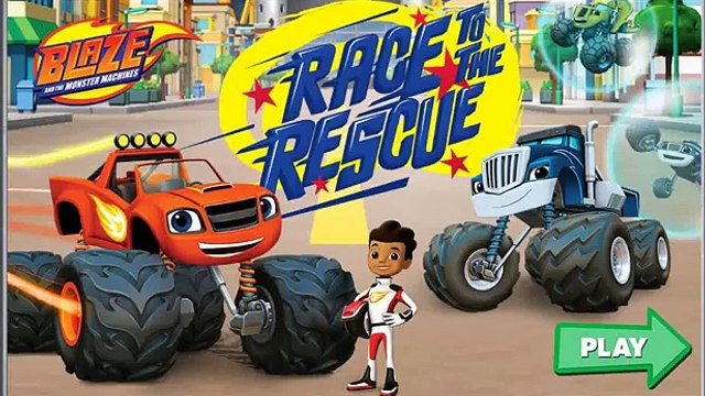 Blaze and the Monster Machines NEW Gameisode - Blaze to the Rescue! - Blaze Monster Machines Games