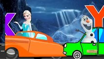 Frozen Songs ABC Alphabets Songs | Frozen Cartoon For Children | ABC Song Children Nursery Rhymes