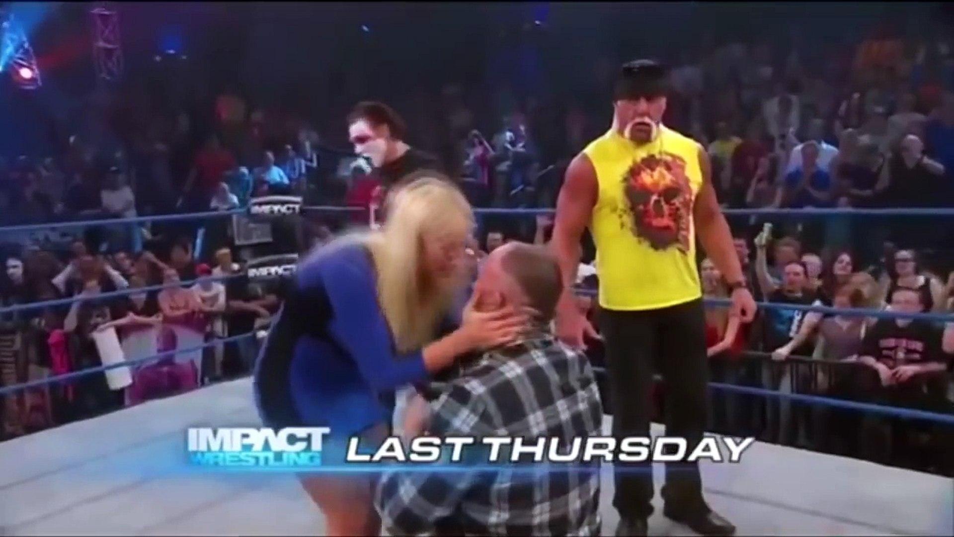 WWE top 5 kiss Lana-WWE TNA Top 100 kiss