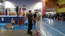 NOS 3 COMPETITEURS AU CHAMPIONNAT ZID KARATE LIGHT ET FULL CONTACT : Nicolas, Jean Damien et Mael (casques rouges !!!°