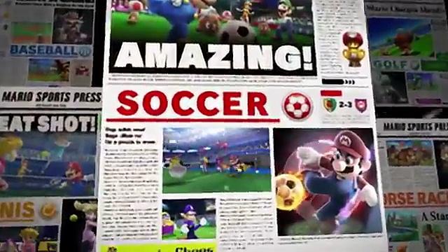 Mario Sports Superstars débarque bientôt en Europe !
