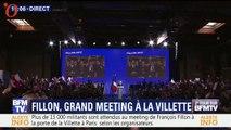 Meeting de François Fillon : Penelope Fillon submergée par l'émotion