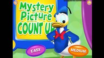Mickey Mouse Clubhouse - Mystery Picture Count Up - Children Game