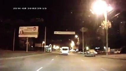 Rusya'da Çizgi Film Karakterleriyle Trafik Kavgası