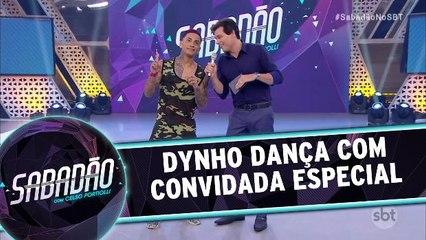 Dynho dança funk com Wanessa Camargo
