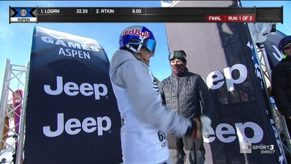 X-Games - Ski Slopestyle - Tess Ledeux frappe d'entrée