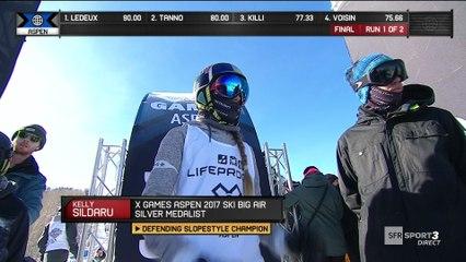 X-Games - Ski Slopestyle - Kelly Sildaru répond sans attendre