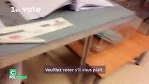Primaire de la gauche: Un journaliste montre comment il a pu voter 4 fois depuis ce matin! - Regardez