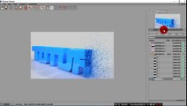How to fracture a text in cinema 4d