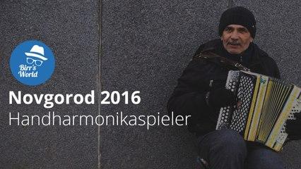Novgorod 2017 - Handharmonikaspieler