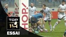 TOP 14 ‐ Essai 2 Paul WILLEMSE (MHR) – Castres-Montpellier – J17 – Saison 2016/2017