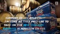 Georgia liquor store bans sale of Sam Adams until after Super Bowl