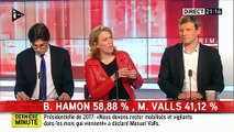 On est content que Valls dégage! La porte-parole de Jean-Luc Mélenchon déclenche la colère de celle de Manuel Valls