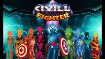 Spider Fighter - Civil Fighter Game
