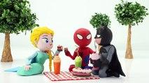 BATMAN MEETS CATWOMAN Prank Joker Stop Motion Spiderman Spidergirl Elsa Frozen and more!