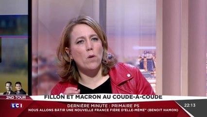 Danielle Simonnet - Réaction au 2e tour de la primaire PS - LCI - 29/01/2017