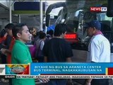 Isang bus sa Araneta Center Bus Terminal, hindi pinabiyahe matapos makitaan ng malaswang DVD