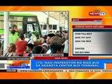 NTG: Ticket sa mga airconditioned bus sa Araneta Center Bus Terminal, sold out na