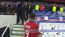 La réponse de Benzia à des supporteurs lyonnais après le match