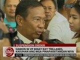 Mag-amang Binay, pumalag sa akusasyon ni Trillanes tungkol sa nakuhang TRO