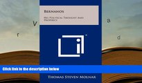 Download [PDF]  Bernanos: His Political Thought and Prophecy Full Book
