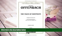 PDF The Tales of Hoffmann: Chorus Parts (French, English Language Edition), Chorus Parts (Kalmus