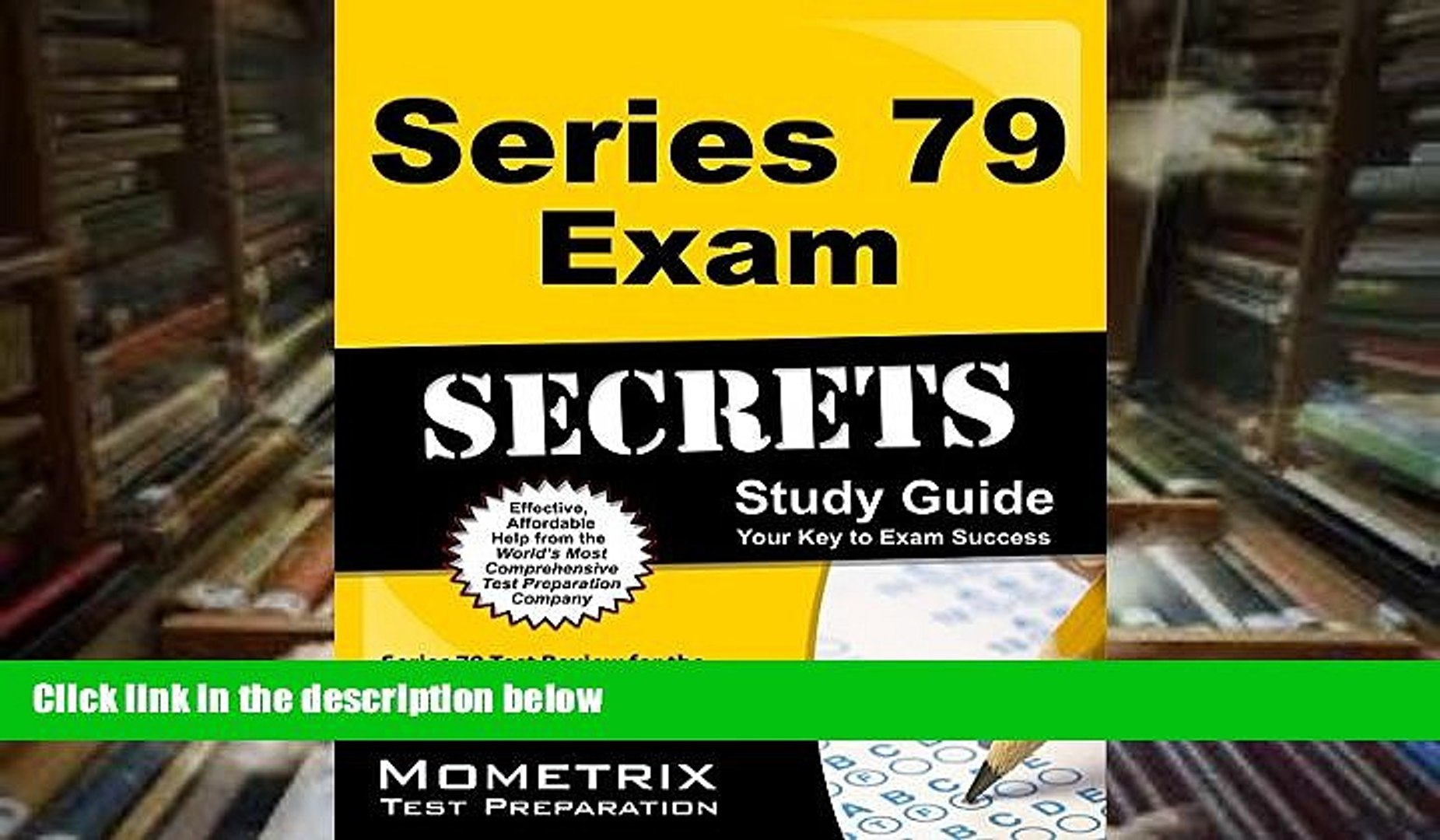 Read Online Series 79 Exam Secrets Study Guide: Series 79 Test Review for the Investment Banking