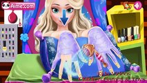 Nail Salon, Back Spa, Hair Salon, Leg Spa - Princess Elsa Beauty Salon - Elsa Game For Girls New HD