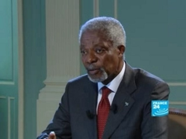 FRANCE24-EN-Talk de Paris-Kofi Annan-Extract2