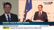 Pourquoi Benoît Hamon a coupé Manuel Valls en plein discours
