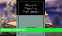 PDF  Steps to reading proficiency: Preview skimming, rapid reading, skimming and scanning,