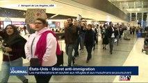 Décret anti-immigration : les manifestations en soutien aux réfugiés et aux musulmans se poursuivent