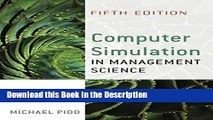 FREE PDF Computer Simulation in Management Science BOOK