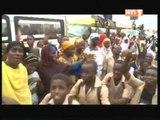 Gagnoa: Les populations ont reservé un acceuil chaleureux au chef de l'Etat