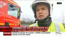 L'A13 coupée dans les Yvelines après un carambolage : 4 blessés en urgence absolue, 55 blessés légers et 11 personnes ch