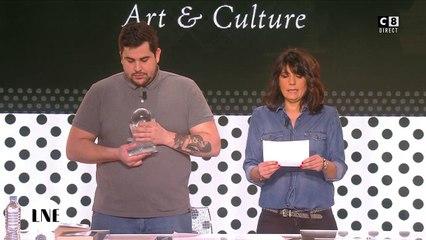 Exclu : Daphné Burki remporte un Globe de Cristal sur C8 !