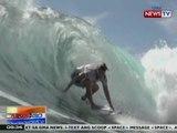 NTG: 8th Siargao Int'l Surfing Cup, nilahukan ng babaeng surfers mula sa iba't ibang panig ng mundo