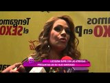 Luz Elena sufre con atrevidas preguntas de su hijo Santiago
