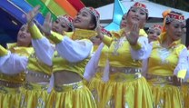Sydney & Syd Hills Chinese Lunar New Year 2017 Part 2 of 13HD, Chinese Songs & Dance Performances, Bella Vista Farm, Custom House, Martin Place,  28 Jan 2017