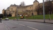 Les fouilles au pied du château démarrent
